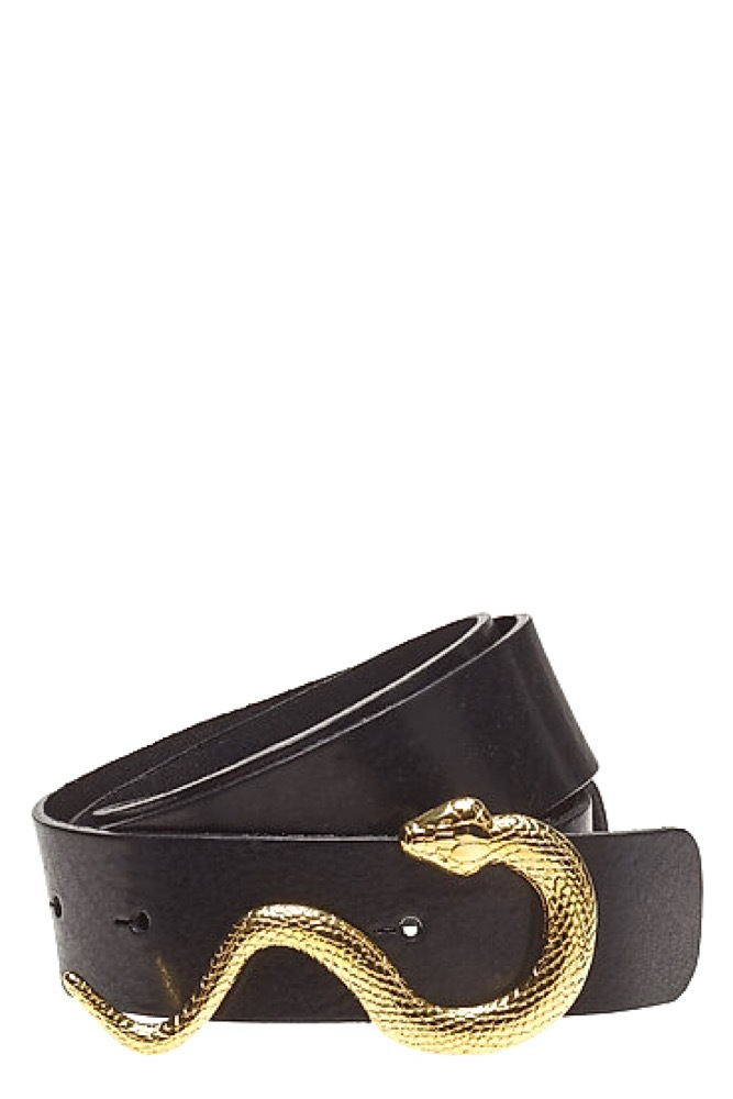 Notes du Nord Gwen Belt Black/gold