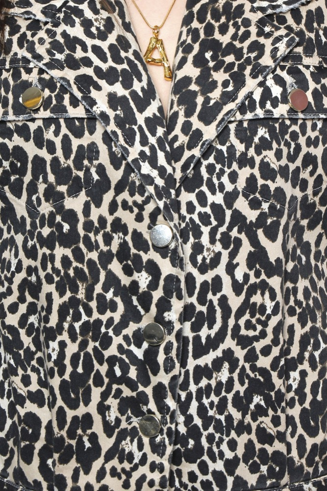 Notes du Nord Kayla Jumpsuit Leopard - Jumpsuits - Tintinstyle 9b706ac90def8