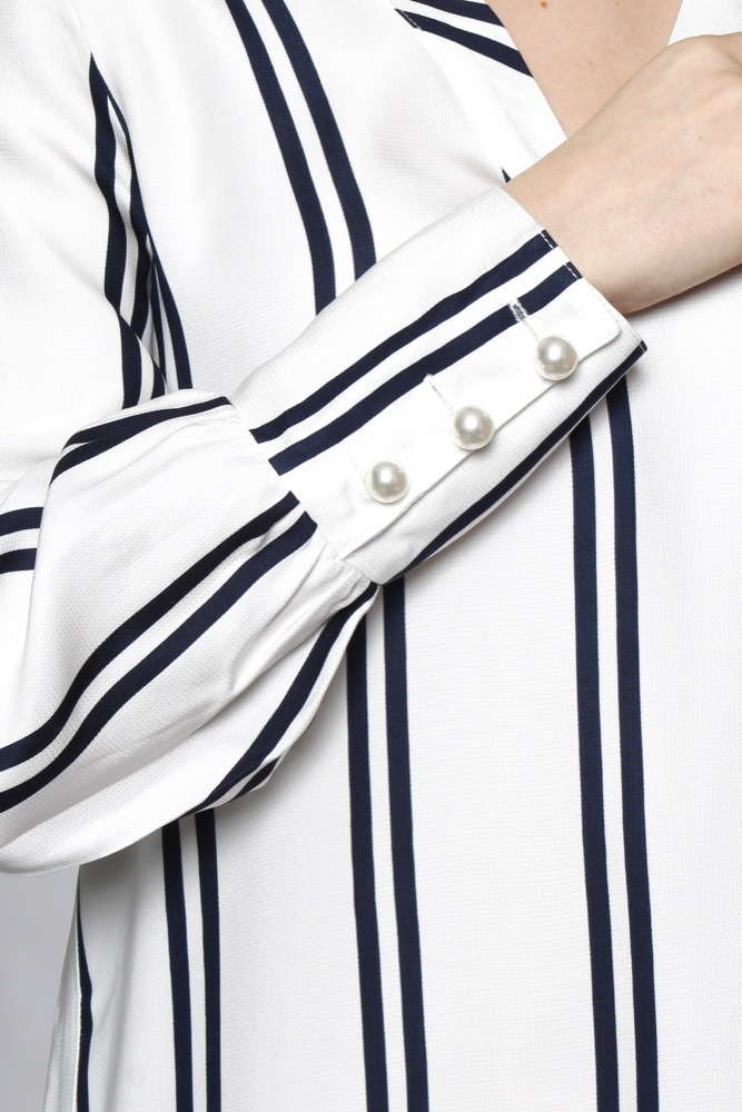 Rue de Femme Elika Dress White/navy