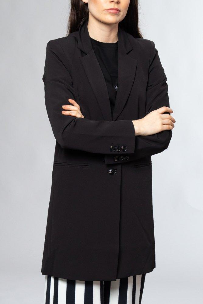 cfac00c6c5f Neo Noir Havana Solid Jacket Black - Kavajer - Tintinstyle