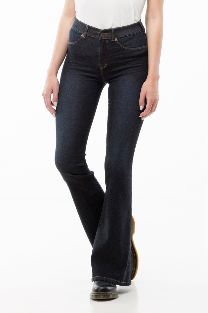 Dr. Denim Birgitte Dark Blue Wash