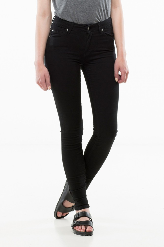 Dr. Denim Regina Black Black