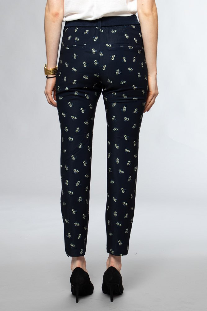 InWear Abril Nica Pant Blue Flower