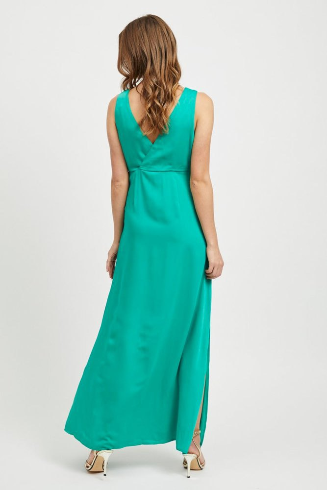 Vila Vifunda S/l Maxi Dress Pepper Green
