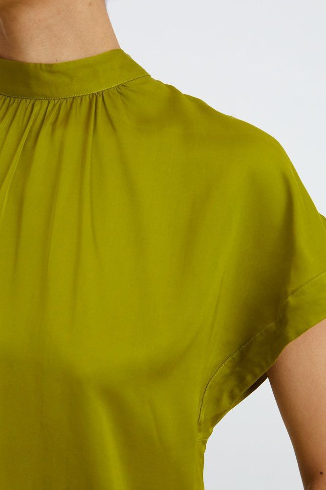 Rodebjer Lau Satin Sunny Lime