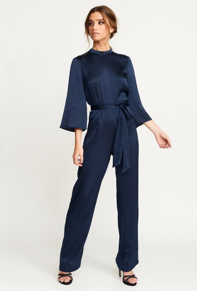 Rut & Circle Macy Jumpsuit Midnight Navy