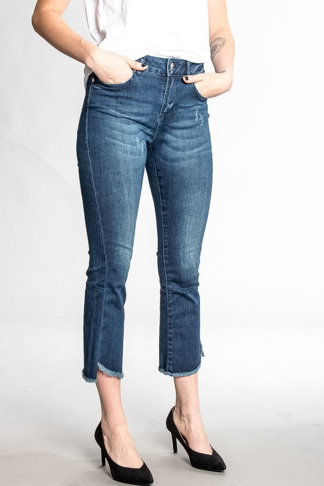 Two Angels Cropped Jeans Denim