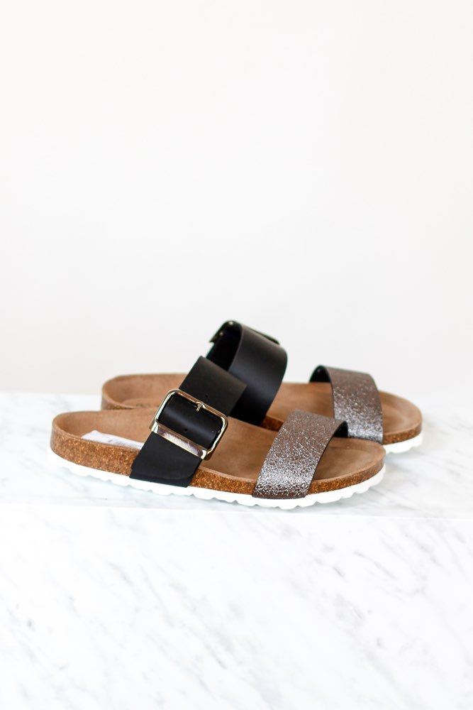 Re:designed Emily Sandal Black