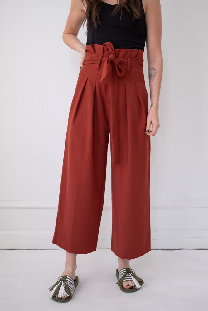 InWear Caraliw Culotte Pant Russel Brown