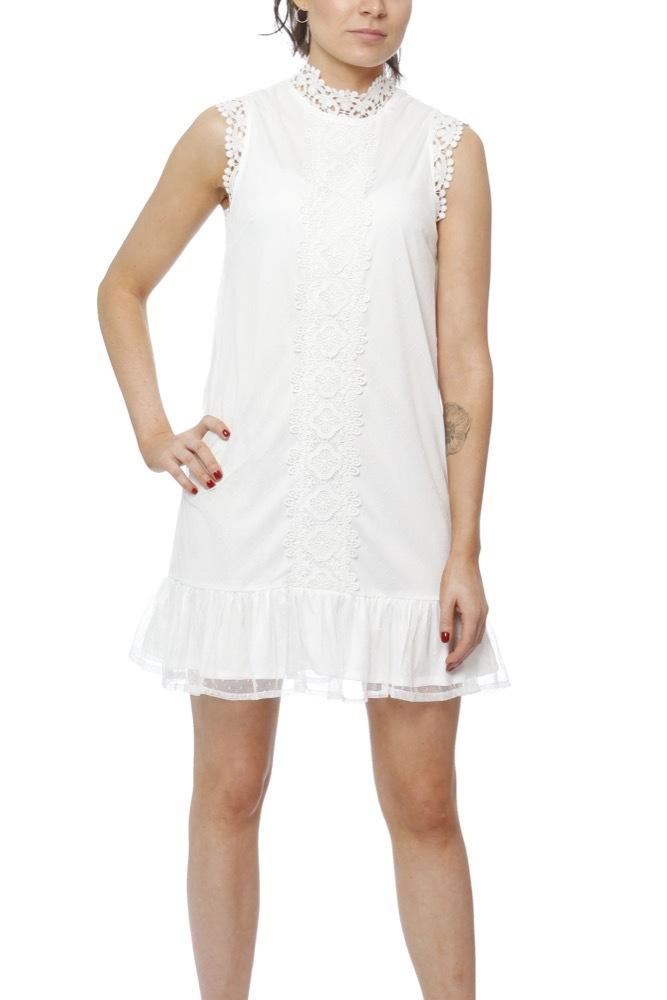 01a44a180736 Dry Lake Lula Dress White - Klänningar - Tintinstyle