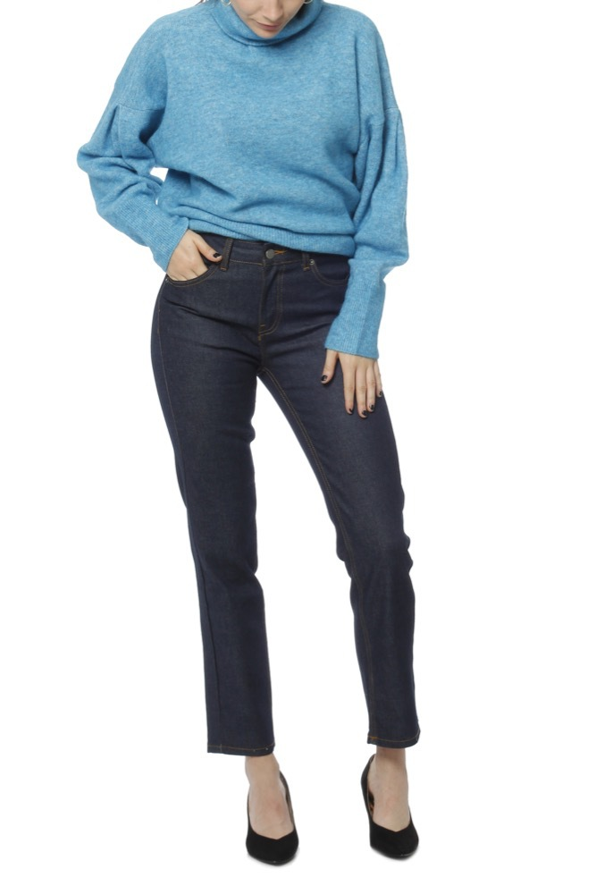 Dr. Denim Edie Rinsed Blue