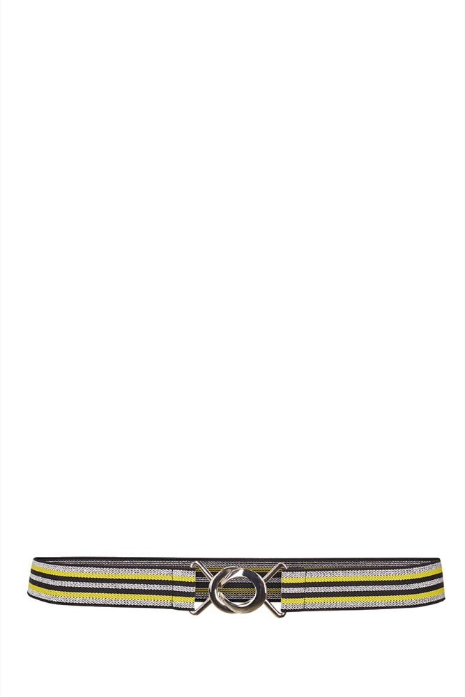 CO'COUTURE Game Lurex Belt Yellow