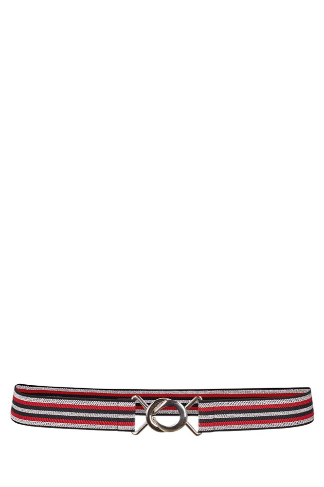 CO'COUTURE Game Lurex Belt Rio Red