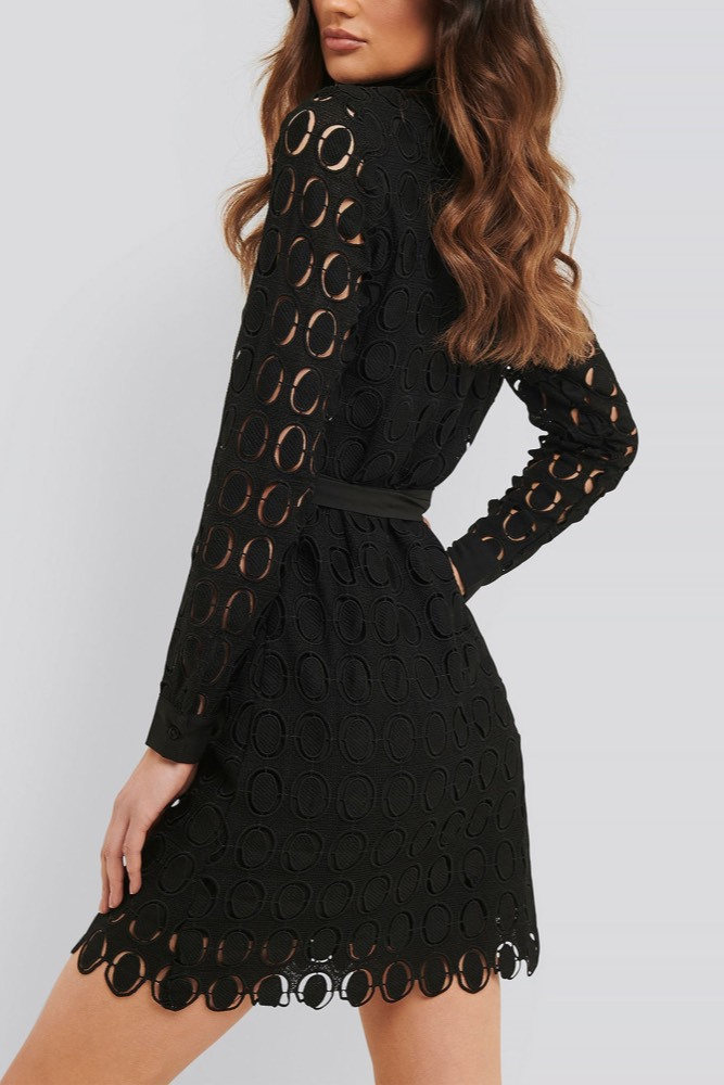 Rut & Circle Nadja Dress Black