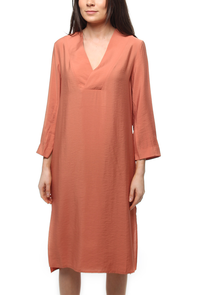 House of Dagmar Candice Dress Terracotta