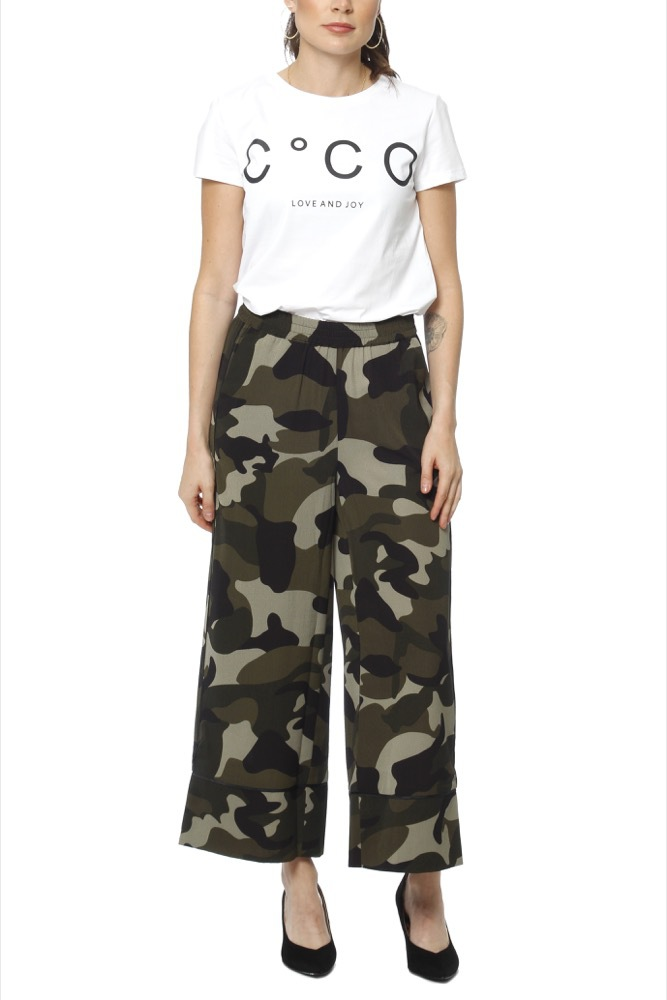 CO'COUTURE Navaeh Camo Pant New Army