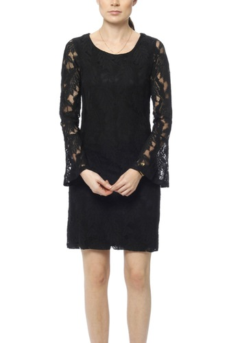 Dry Lake Beatrice Dress Black