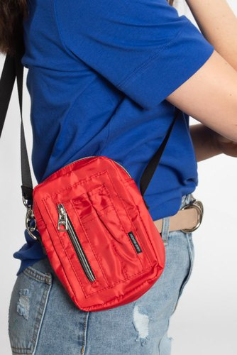 Cheap Monday Patrol Bag Scarlet Red