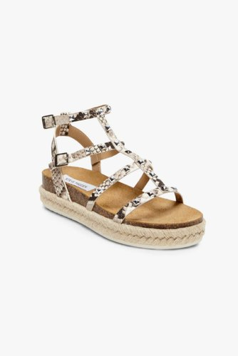 Steve Madden Array Sandal Natural Snake