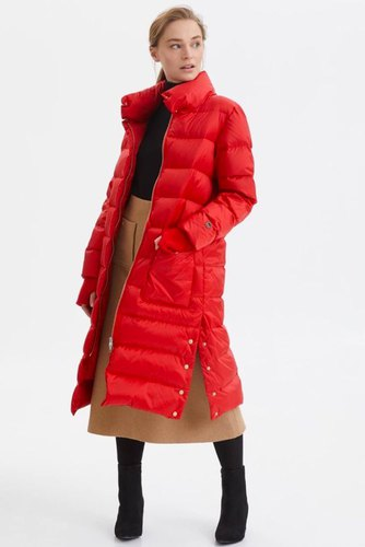 Busnel Heloise Down Coat Red