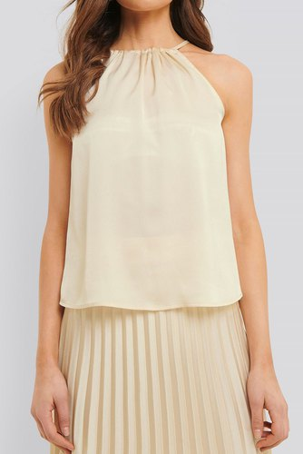 Rut & Circle Bianca Singlet Light Beige