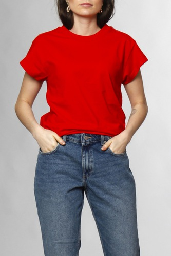 Cheap Monday Screen Top Scarlet Red