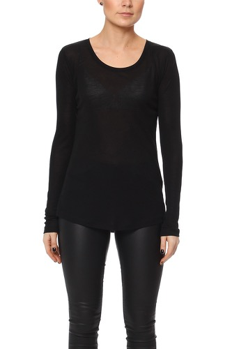 House of Dagmar ELI RIB TOP BLACK