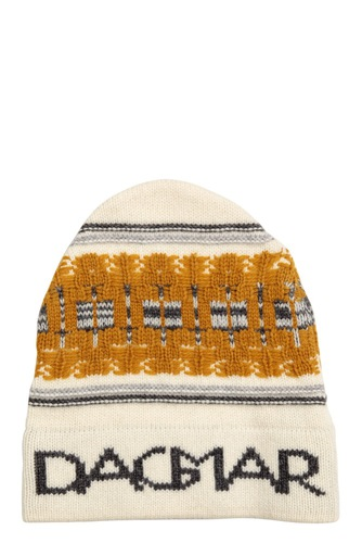 Dagmar Jaquard Beanie Light Multi