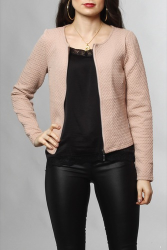 Vila Vinaja New Short Jacket Adobe Rose