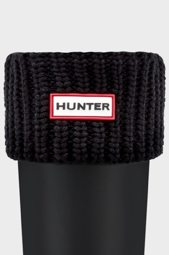 HALF CARDIGAN SOCK BLACK