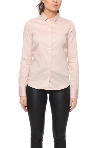 Mos Mosh TILDA SHIRT LIGHT ROSE