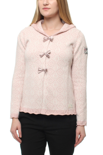 Le Knit Cardigan Milky Pink