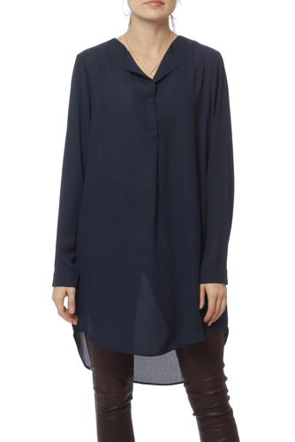 Vila Vilucy L/s Tunic-fav Total Eclipse