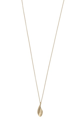 Snö of Sweden Layer Pendant Neck 80 Plain Gold