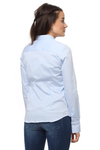 Mos Mosh Tilda Shirt Light Blue