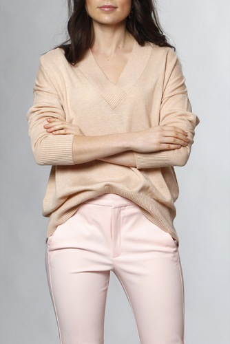 InWear Rumi V-neck Rose Dust
