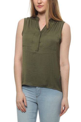 Vimelli S/l Pocket Top Ivy Green
