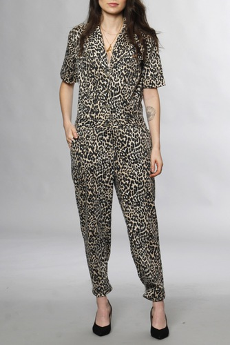 Notes du Nord Kayla Jumpsuit Leopard