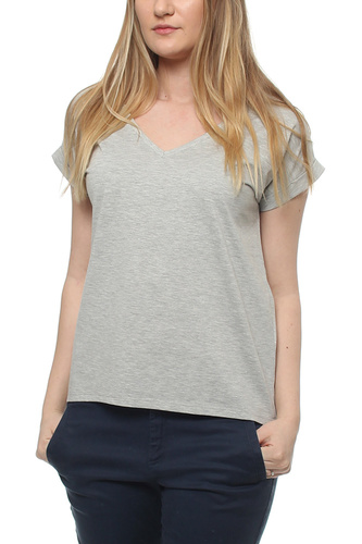 Vidreamers V-neck T-shirt Light Grey