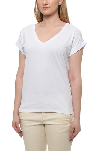 Vidreamers V-neck T-shirt Optical Snow