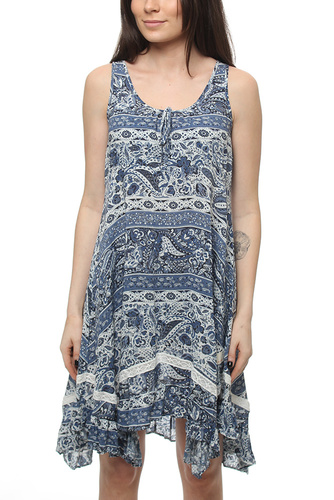 SWAY IT DRESS DARK NAVY