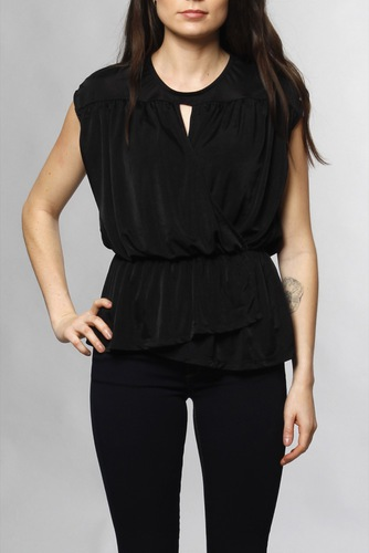 Vila Visatinas S/l Top Black