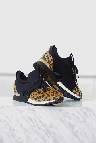 Zmillas Leo Sneakers Black Leopard