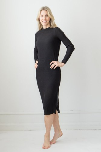 Neo Noir Vogue Dress Black