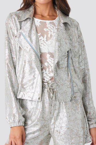 Rut & Circle Philippa Jacket Silver