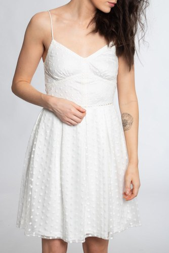 Dry Lake Lydia Dress White Flower
