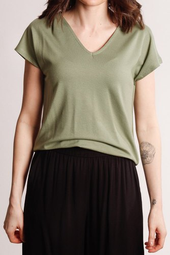 B.YOUNG Byselia Tshirt Sea Green