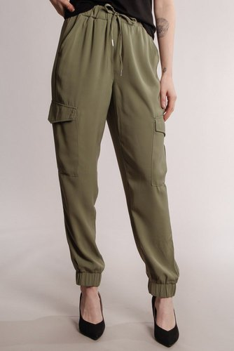 B.YOUNG Byabel Cargo Pants Sea Green