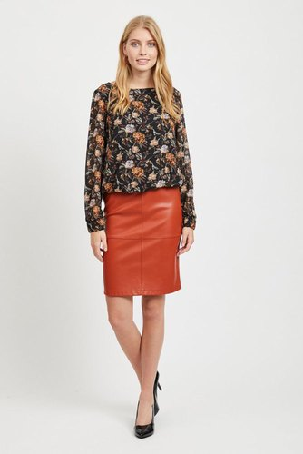 Vila Vipen New Skirt Ketchup