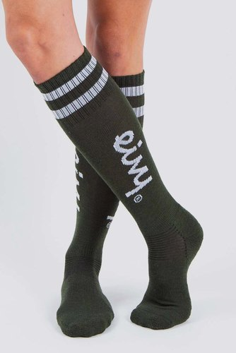 Eivy Socks-under Knee Forest Green